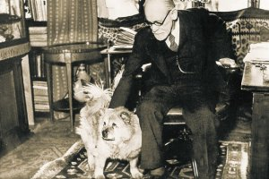 Freud and his dog